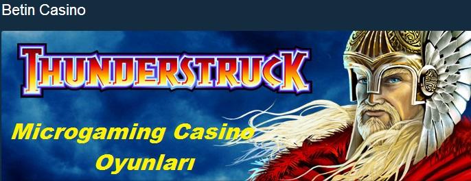 casino microgaming oyunları